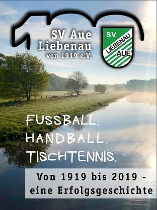 Deckblatt Chronik SV Aue Liebenau