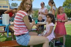 Kinderschminken mit Vanessa und Mandy©svaueliebenau