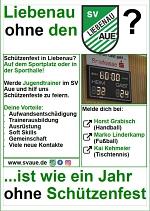 Schützenfest in Liebenau