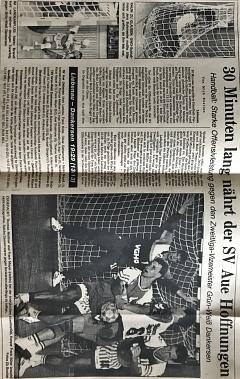 Jubiläumsspiel 75 Jahre SV Aue Liebenau©SV Aue Liebenau